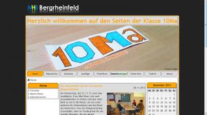 DBIS-2013 - Klassenwebsite 10Ma